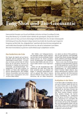 Feng Shui und Tao-Geomantie (Feng Shui Aktuell Heft 6)