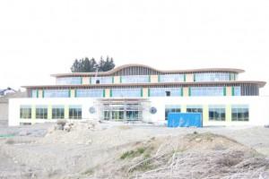 Firmengebäude Primavera Life in der Bauphase